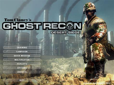 ghost recon desert siege tom clancy s ghost recon desert siege обзор игры скриншоты
