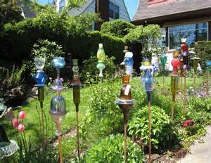 garden from recycled materials a cool project for the yard yards and