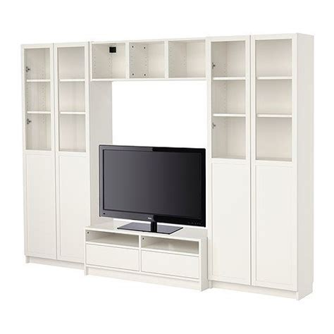 Billy Tv Bank by Kallax Dr 214 Na Shelving Unit With 4 Inserts White Ikea
