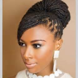 pictures of dreadlock hairstyles beautiful loc bun hair style for brides dreadlock