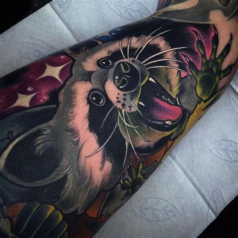 raccoon tattoos designs raccoon cover up best ideas designs
