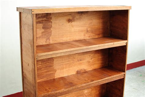 Wooden Bookshelf by How To Build Wooden Bookshelves 7 Steps With Pictures