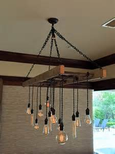 How To Make A Wooden Chandelier Ladder Pot Rack Converted To Chandelier By Client