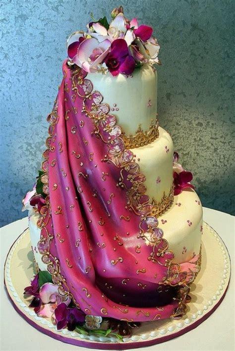Hochzeitstorte Indisch by Indische Hochzeit Indian Sari Hochzeitstorte 2030581