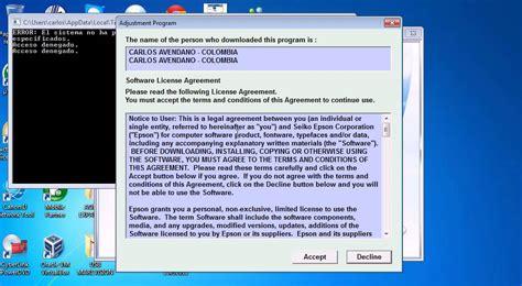 reset adjustment program epson tx320f reset epson tx320f reseteador adjustment program youtube