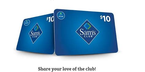 Sams Renewal Gift Card - sams club membership deals membership 20 gift card