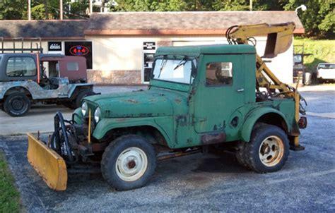 Jeep Plow Warn Industries Jeep Cj 5 With Backhoe Plow Spotted