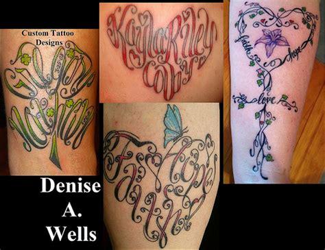 tattoo name designs creator a custom designs 2012 flickr