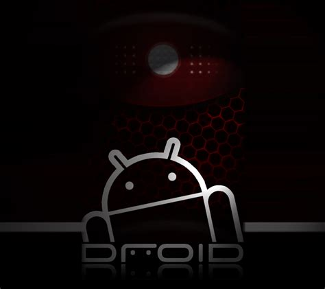 wallpaper android com photo quot red and black droid background brighter quot in the