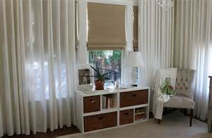 Romantic Curtains And Drapes Style Up Your Home This Summer With Cool Roman Shades