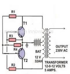 a simple inverter circuit