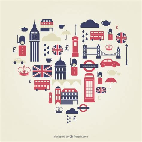 graphics design uk london heart flat icons vector free download