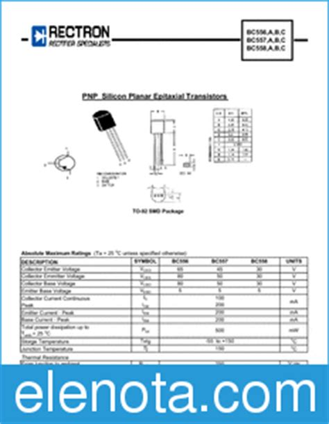 transistor c1815 caracteristicas transistor bc557 pdf 28 images bc557 datasheet transistor switching and af lifier high
