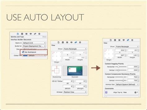 auto layout video auto layout in i os 7