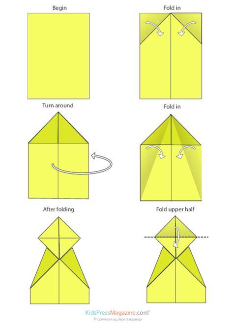 printable paper airplane directions paper airplane instructions canard kidspressmagazine com