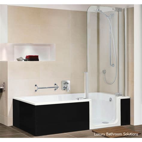 badewanne 170 x 75 twinline 2 luxury designer artweger walk in acrylic bath