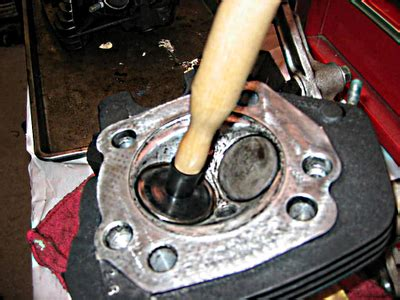 Mesin Bor Pake Batre cara skir klep yang benar