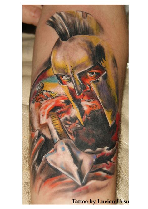 deviant tattoos spartan by lukatattoo on deviantart