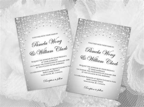 Diy Card Template Wedding Shower by Diy Printable Wedding Invitation Card Template 2428934