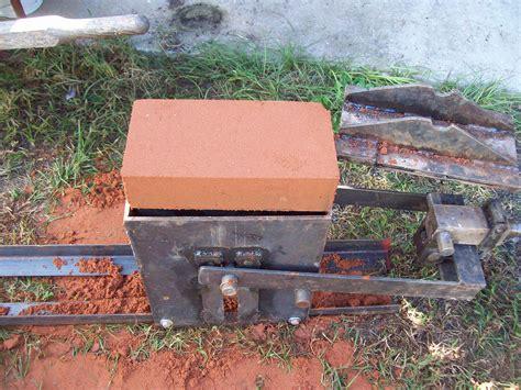 diy clay bricks i built a cinva ram ceb press and i made it easier for