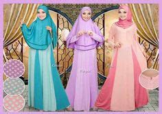 Dress Lissie Sw Pakaian Wanita Dress Warna muslim and maxis on