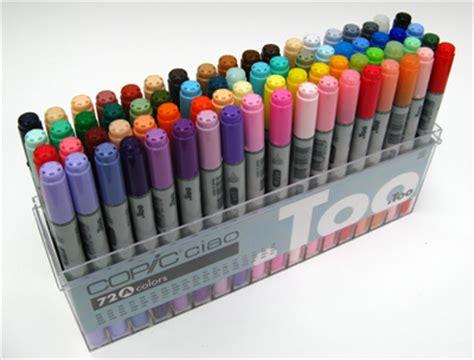 Copic Ciao Set 72 A copic ciao marker sets