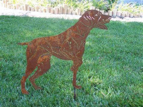 german shorthair pointer metal garden yard art gsp