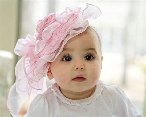 beautiful babies with headbands baby headband or the new picking up trendy headbands for babies can be