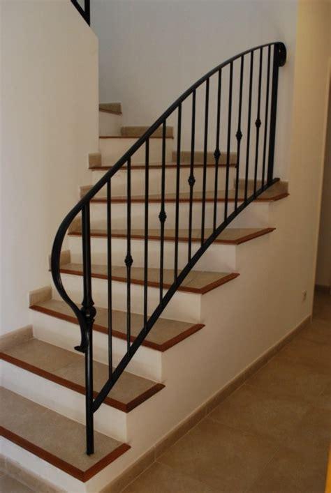 Fer Forge Stairs Design Re Et Garde Corps Palier En Fer Forg 233 Bastide Decoration Chalet