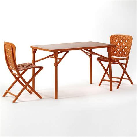 tavoli giardino pieghevoli tavolo pieghevole da giardino e terrazzo zic nardi