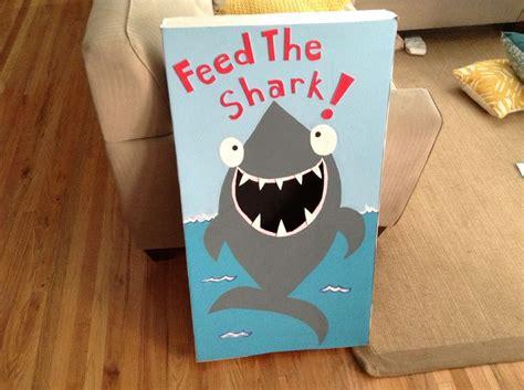 shark bean bag toss my diy feed the shark bean bag ideas