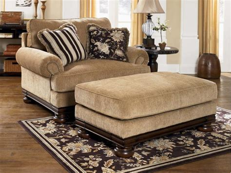oversized loveseat with ottoman comfortable oversized chairs with ottoman homesfeed