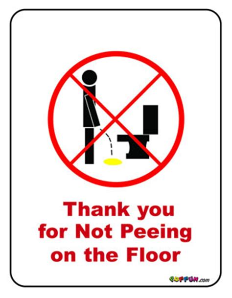 how to stop my dog pissing in the house please don t pee on the floor sign
