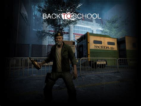 mod game left 4 dead left 4 dead 2 back to school game mod weapon rifles
