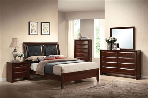 bedroom furniture sets ireland ireland 6 piece bedroom set in espresso finish by acme 21450