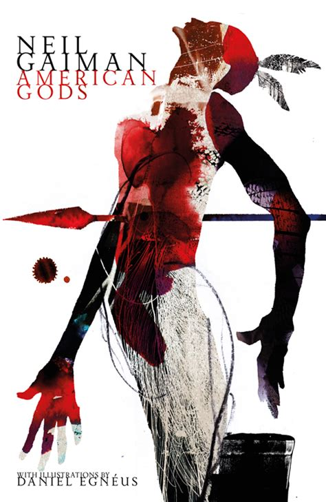libro black dog american gods daniel egneus neil gaiman s american gods collection 187 good illustration blog