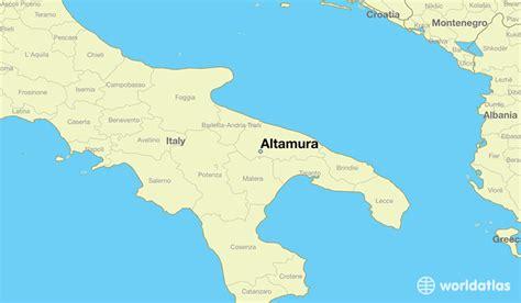 apulia altamura where is altamura italy altamura apulia map