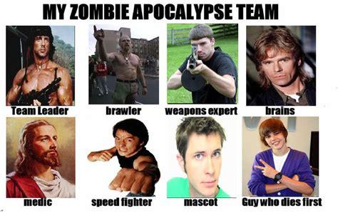 My Zombie Apocalypse Team Meme Creator - my zombie apocalypse team meme creator