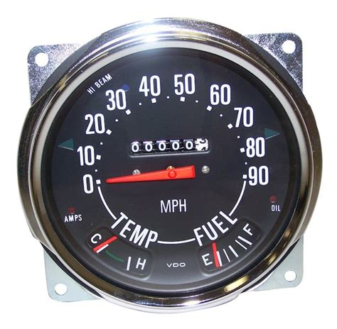 jeep speedometer jeep cj speedometer guage 0 90 crown automotive 914845