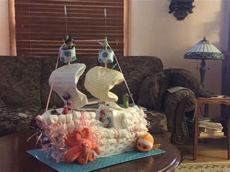 Peter Pan Diaper Cake Baby S Er Boy Baby S Er