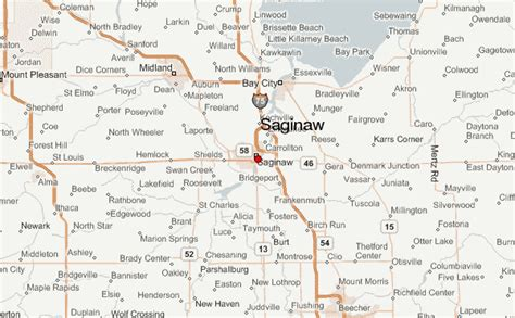 map of saginaw county michigan gu 237 a urbano de saginaw michigan
