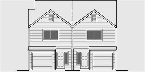 multifamily plans triplex house plans multi family homes row house plans