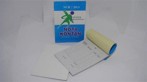 K3 Buku Nota Kontan Rangkap 3 Kecil jual alat tulis kantor murah surabaya 187 nota kontan p per