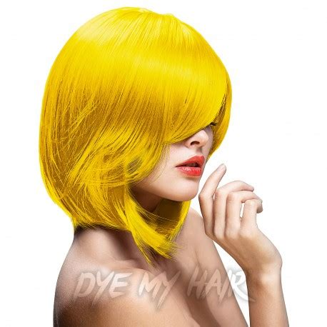 directions by la riche bright hair color from eyecandy s directions bright daffodil semi permanent hair dye la