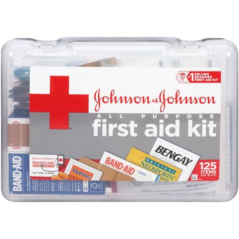 Shoo Johnson And Johnson band aid cross all purpose aid kit 1lb rite aid
