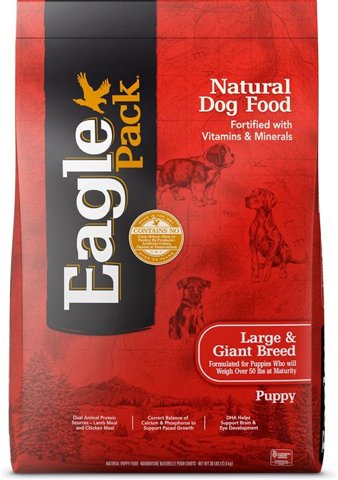 chewy puppy food eagle pack large breed puppy food 30 lb bag chewy
