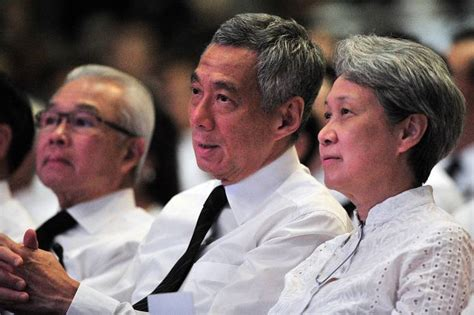 lee hsien loong fathers state funeral will be a moment temasek chief executive ho ching to take leave of absence