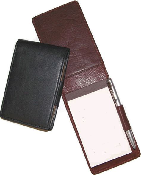 leather notepad cover note pad note taker jotter and memo pad covers
