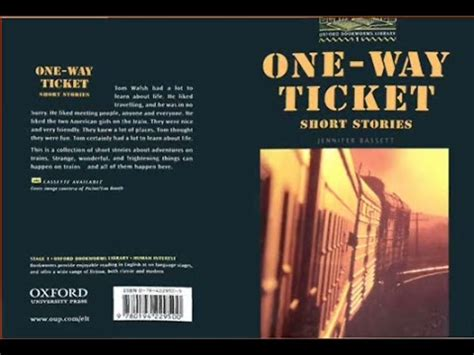 One Way Ticket Bookworms oxford bookworms library stage1 one way ticket the