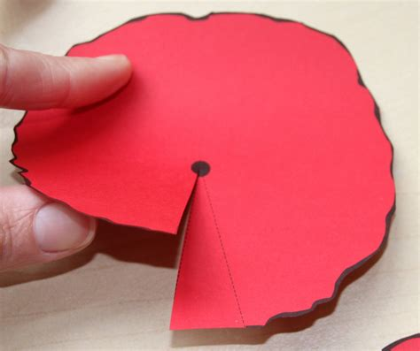 poppy template to cut out paper poppies craft n home